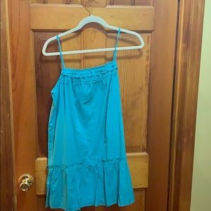 Loft Teal Sundress